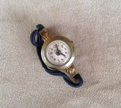 Vintage Child's Toy Doll Watch Ladies Cute Little Novelty