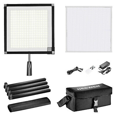 Neewer 256 LED 48W 5600K Fabric Light Lamp Panel Kit with 2.4G Remote Control