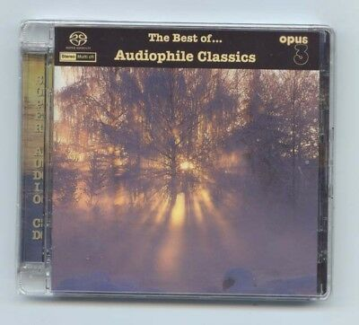 """Opus Records """"The Best of Audiophile Classics"""" Opus3 Multi-Channel SACD CD New"""