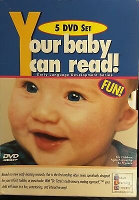 Your Baby Can Read. 5 disc DVD set