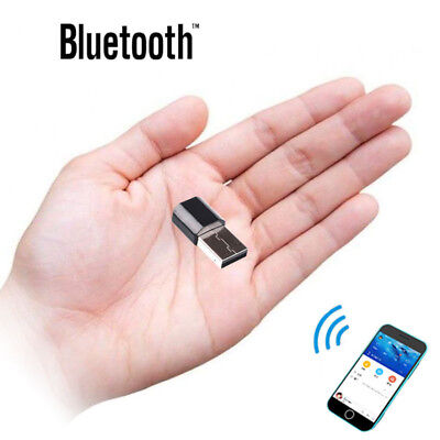 Wireless Bluetooth Phone To 3.5mm AUX Car Stereo Audio Music Receiver Adapter BK