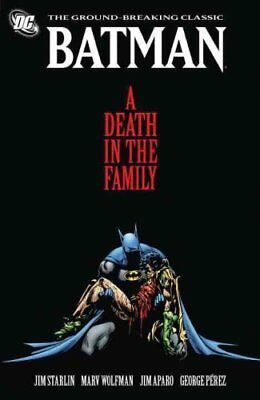 Batman A Death In The Family TP New Ed by Jim Starlin 9781401232740