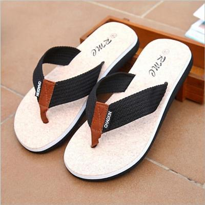 Men's Sport Casual Sandals Thongs Beach Indoor Outdoor Flip Flops Slippers Shoes