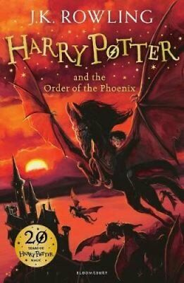 Harry Potter and the Order of the Phoenix by J. K. Rowling 9781408855935