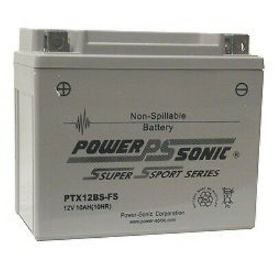Battery For Piaggio Runner 200 Yrs 10-11 200Cc Factory Sealed 12V 10Ah  180Cca