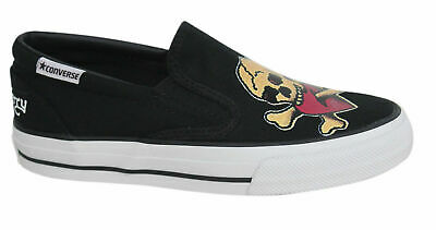 Converse Skid Grip EV Sailor Jerry Slip On Canvas Mens Trainers 100373F OppM6