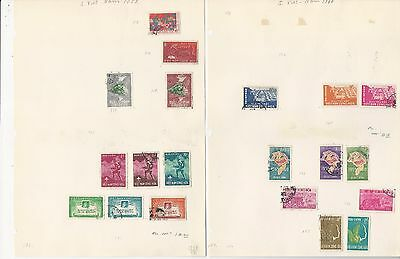 Vietnam Collection 1959 to 1974 on 19 Pages, All Different