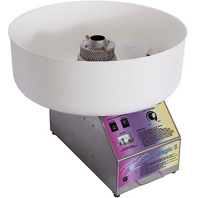 Spin Magic 5 w/ Metal Bowl Cotton Candy Machine