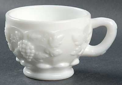 Westmoreland PANELED GRAPE MILK GLASS Punch Cup 769626