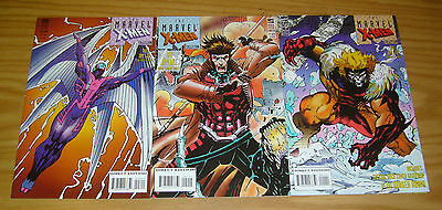 Marvel X-Men Collection #1-3 VF/NM complete series - jim lee art set lot 2