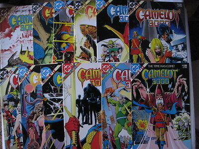 CAMELOT : COMPLETE CLASSIC 12 ISSUE SERIES by BARR & BRIAN BOLLAND. DC.1982