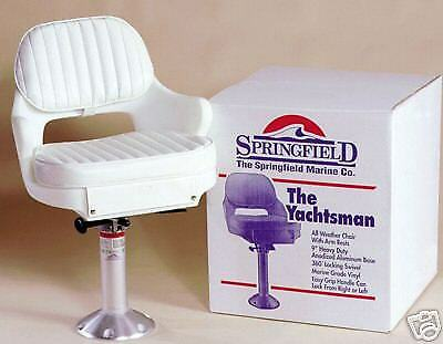 Springfield Yachtmans Ii Deluxe Package Boat Chair Seat Safety Top Quality