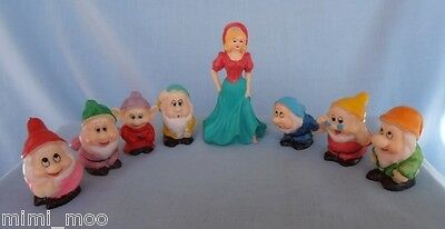Snow White and The Seven Dwarfs Disney Figurines - NEW