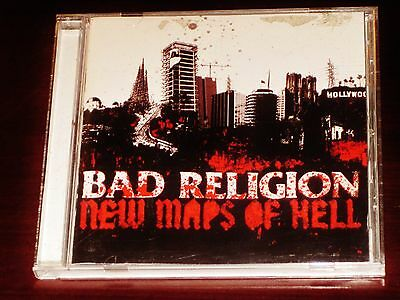 Bad Religion: New Maps Of Hell CD 2007 Epitaph Records USA 80803-2 Original