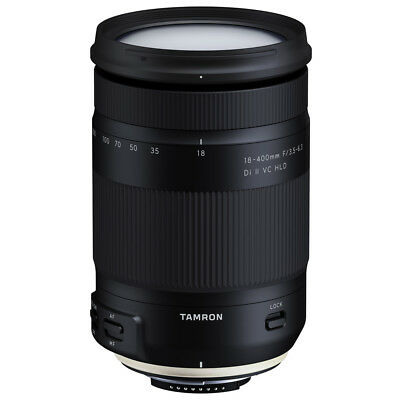 Tamron 18-400mm f/3.5-6.3 Di II VC HLD All-In-One Zoom Lens for Nikon Mount