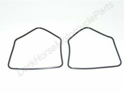 2x Carburetor Carb Float Bowl Gaskets Kawasaki EX305 KZ305 KZ400 KZ440 18-2634