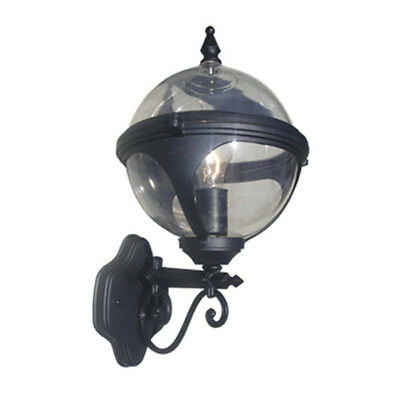 18 Exterior Orb Wall Light Globe Sconce Outdoor Clear