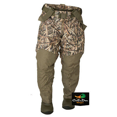Banded Gear Redzone Breathable Insulated Waist Waders Shadowgrass Blades Camo 12