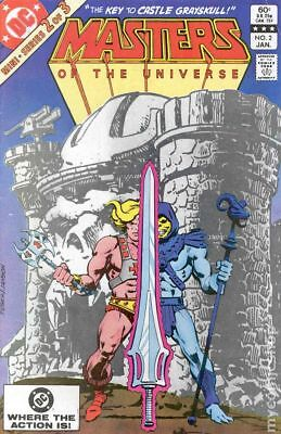 Masters of the Universe (1982 1st Series DC) #2 FN+ 6.5
