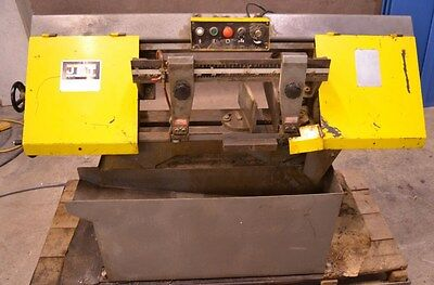 "Jet HBS-9M 9"" x 16"" Horizontal Metalworking Band Saw Bandsaw 1.5HP 115/230V"