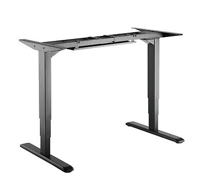 Height Adjustable Electric Motorised Sit Stand Desk Table Office (Twin Motor)