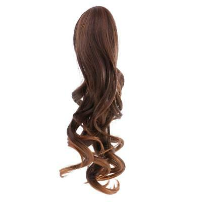Doll Middle Parting Wavy Hair Wig for 18'' American Girl Doll DIY Change #13
