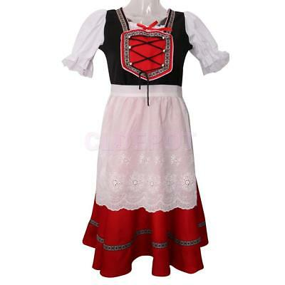 Oktoberfest Party Beer Maid Costume Bavarian Girls Dress Fancy Dress Outfits  sc 1 st  PicClick UK & OKTOBERFEST PARTY BEER Maid Costume Bavarian Girls Dress Fancy Dress ...
