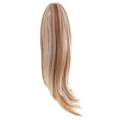 Dolls Straight Hair Wig Hairpiece for 18'' American Girl Doll DIY Making #16