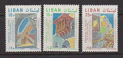 LEBANON 1968 Council set nhm