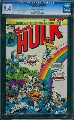 Incredible Hulk # 190  The Toad Men are too Powerful !  CGC 9.4 scarce book !