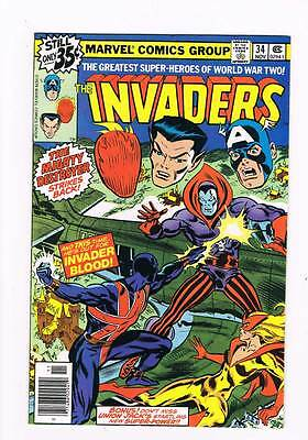 Invaders # 34 He Who Destroys ! grade - 8.0 scarce book !!