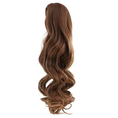 Fantasy Wavy Curly Hair Wig for 18'' American Girl Doll DIY Making ACCS #2