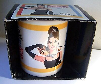 Tasse / Mug - Breakfast At Tiffany's, Audrey Hepburn - Pyramid - Neuf -
