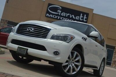 2014 Infiniti QX56  2014 INFINITI QX80 4X4 * THEATER PKG * LUX PKG * TOUR PKG * LOADED! LOOK
