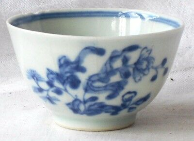 C18Th Chinese Blue And White Tea Bowl A/f