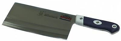 LW  Chinese Meat cleaver with Full Tang Non Slip Rubber Handle 6811