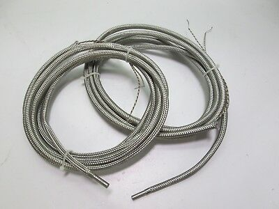 Lot of 2 Watlow St Louis Firerod E1A52-10809 Temperature Sensors 10' Length