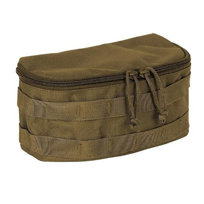 Voodoo Tactical 20-0122007000 Coyote Rounded MOLLE Utility Pouch