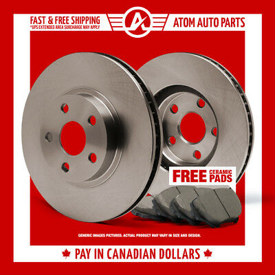 2009 2010 2011 2012 Cadillac CTS-V (OE Replacement) Rotors Ceramic Pads R