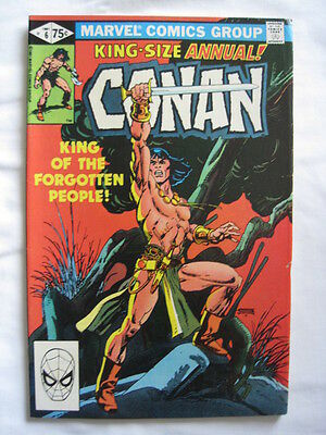 CONAN  ANNUAL  6.  By ROY THOMAS & GIL KANE. CLASSIC ! MARVEL. 1981