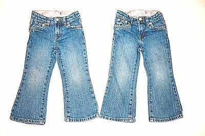 Levi's stretch flare 517 girls jeans sz 2T - 2 available twins sisters