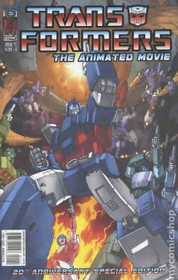 Transformers Animated Movie Adaptation (2006) #1A VF
