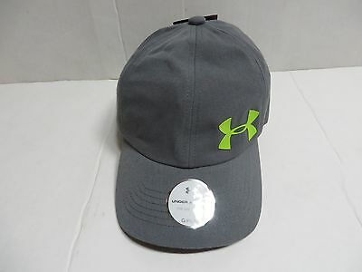 NEW Under Armour Youth Baseball Cap Hat  Gray/Neon  Size Girls Youth OSFM Nwt