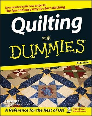 Quilting for Dummies (Paperback or Softback)