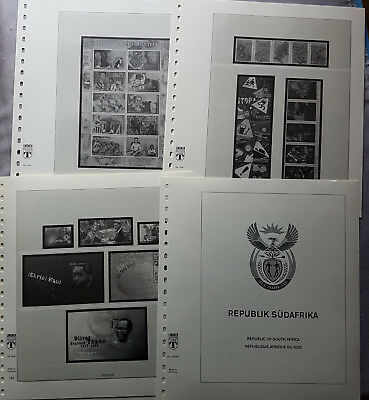 Lindner Pre-printed Sheets 508 South Africa 2003-2014 Sheets 135-202