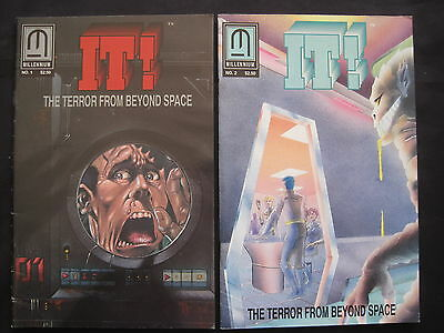 IT ! The TERROR FROM BEYOND SPACE : #s 1 & 2. EXPLICIT CONTENT. MILLENNIUM. 1993