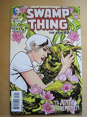SWAMP THING  # 18.  SCOTT SNYDER   1st PRINT. THE NEW 52. DC.2013