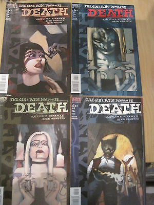 The GIRL WHO WOULD BE DEATH : complete 4 ISSUE SERIES. DC VERTIGO.1998