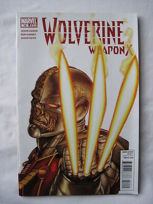 WOLVERINE WEAPON  X  # 14.   By Aaron and Garney. MARVEL .  2012