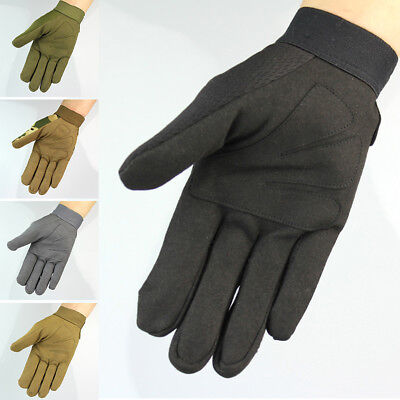 Outdoor Military Tactical Full Finger Protective Working Fishing Cycling Gloves